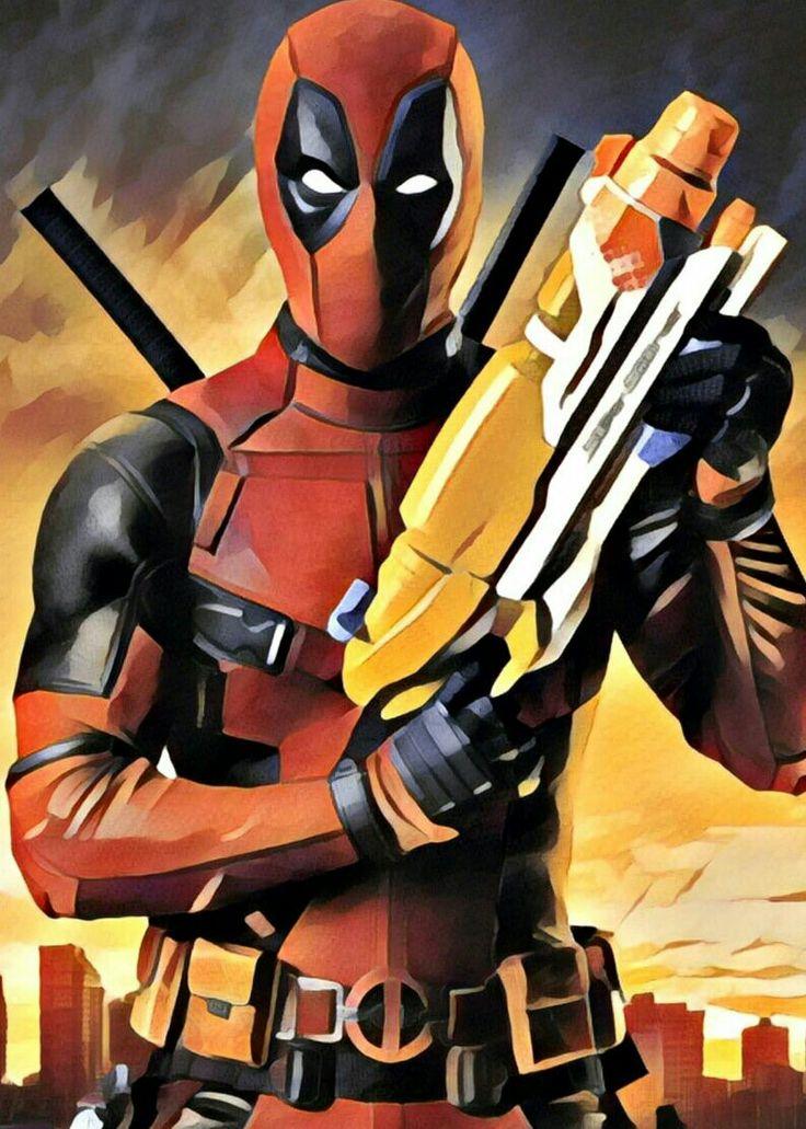 #Deadpool #Fan #Art. (Deadpool) By: WreckitBoo. ÅWESOMENESS!!!™ ÅÅÅ+