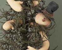 Dazzel Snowman Tree Topper