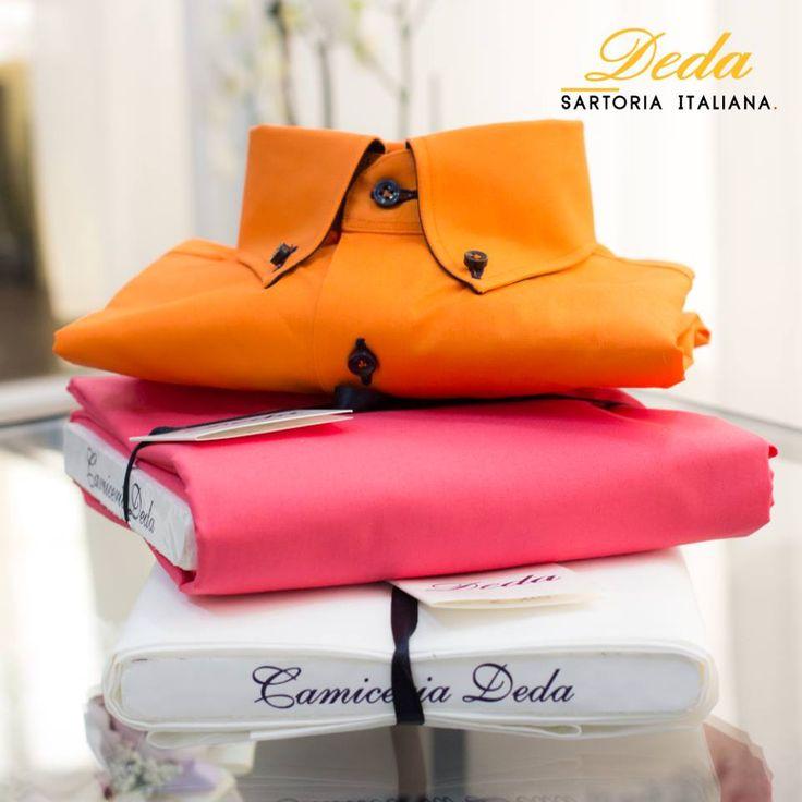 Colora il tuo #stile con le #camicie sartoriali #Deda!