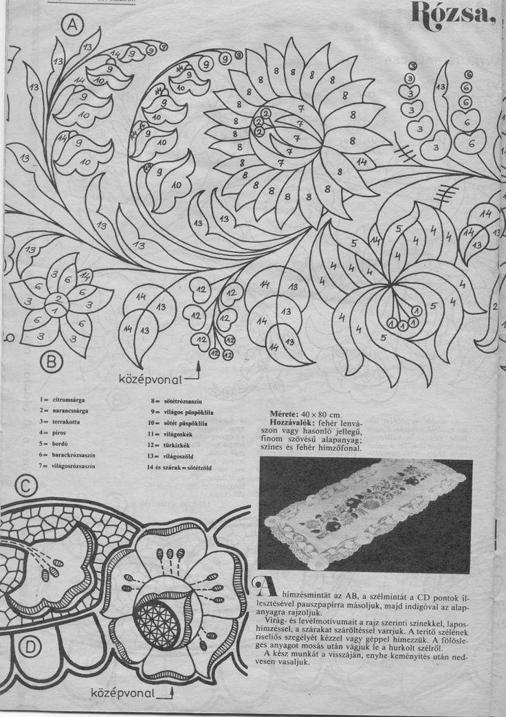 Kalocsai rózs liliom szín