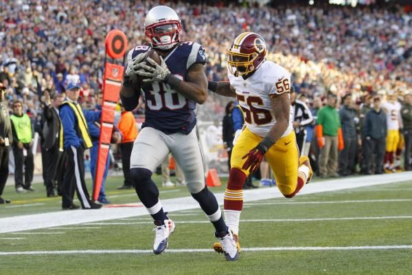 With Dion Lewis, James White and Rex Burkhead on the New England Patriots' roster, Brandon Bolden isn't a sure thing to make the team.