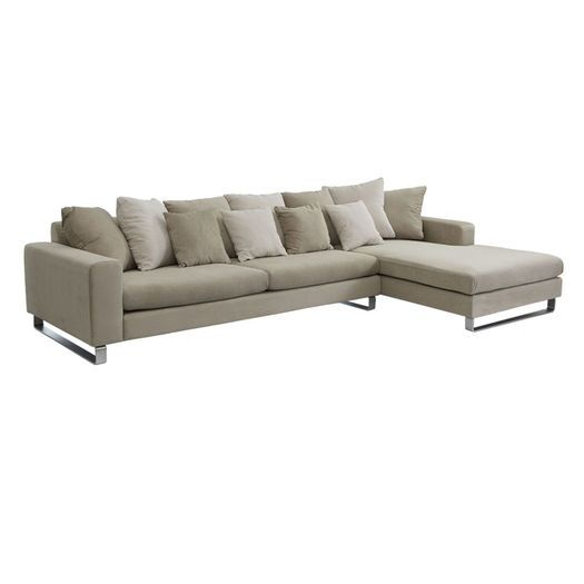 Landon 3 seat sofa with chaise, Living - Lounge & Sofas - Chaise Lounges