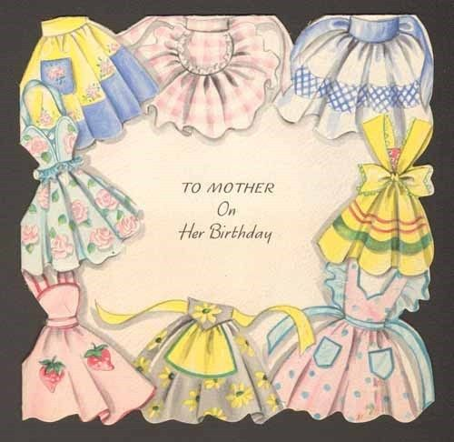 apron birthday card~so it's a little late or a little early, it's cute!