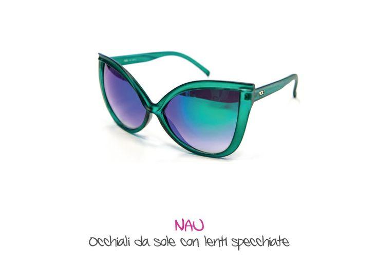 NAU - Occhiali da sole con lenti specchiate