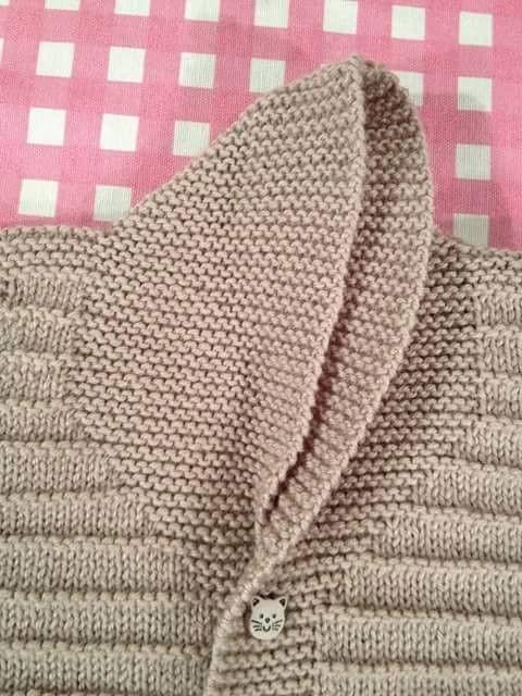 Shawl collar in garter stitch. I like that ~~ Hızlı ve Kolay Resim Paylaşımı - resim yükle - resim paylaş - Hızlı Resim