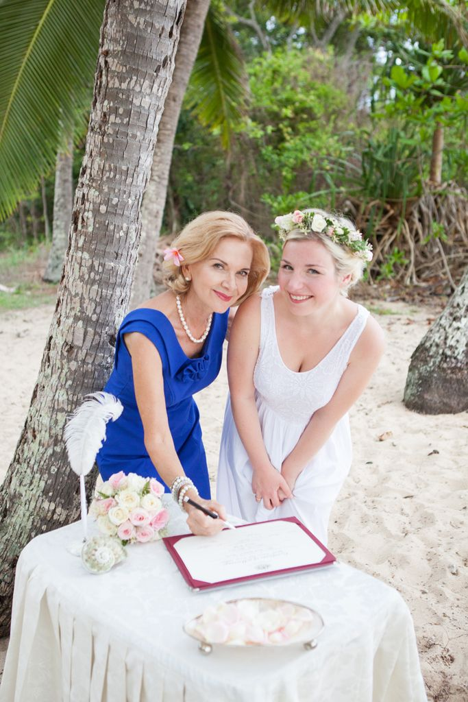 Clifton Beach elopement from Germany for Rahsan and Patrick