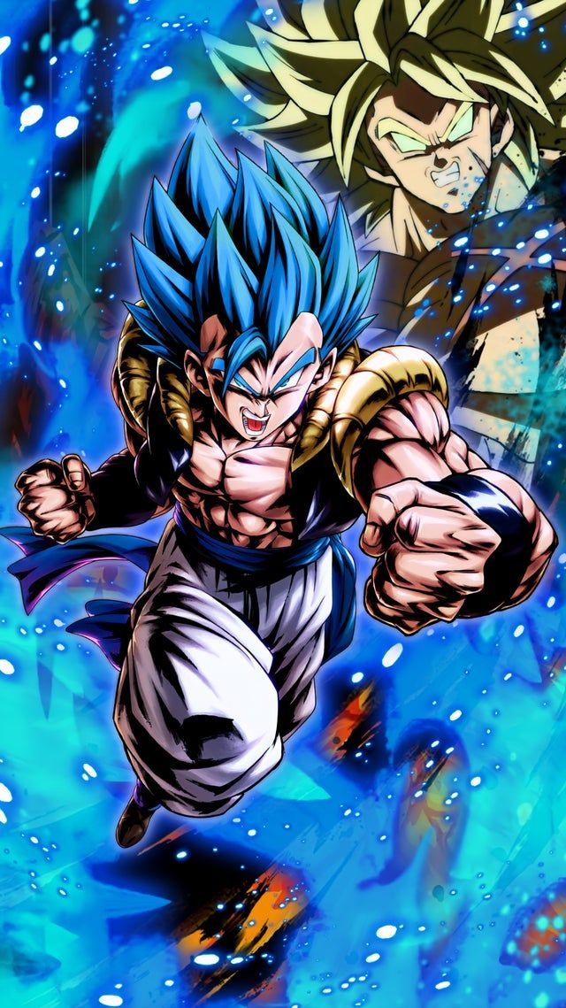 Gogeta Blue Took Me An Incredible Amount Of Time To Do It But I M Pretty Glad With The Resu In 2021 Anime Dragon Ball Super Anime Dragon Ball Goku Dragon Ball