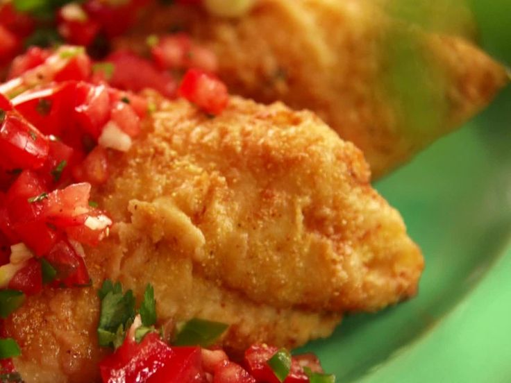 images of food network recipes | ... with Tomato Relish Recipe : Paula Deen : Recipes : Food Network