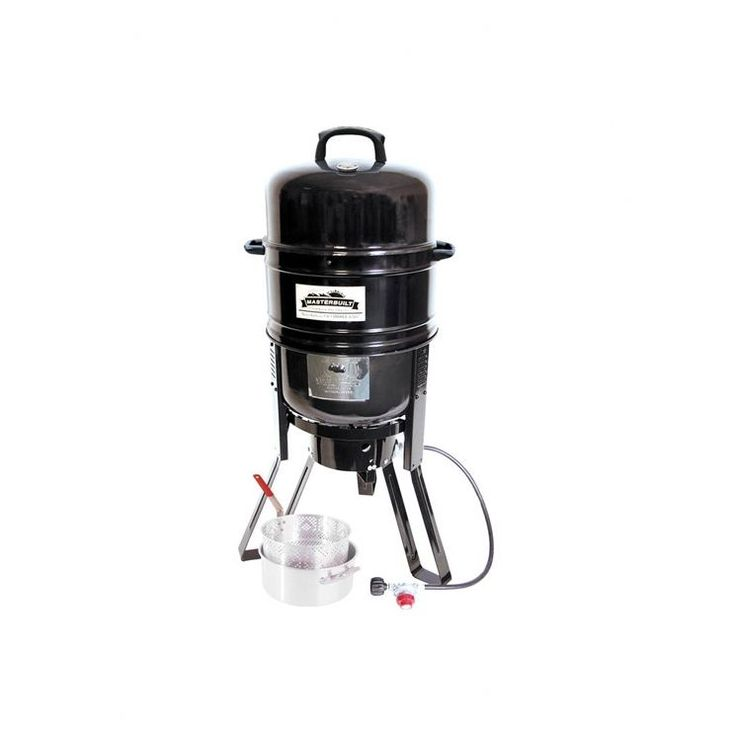7 in 1 Charcoal / Propane Smoker and Grill