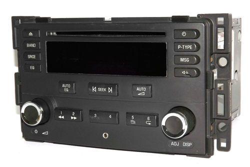 Chevy 2005 2006 Cobalt AM FM CD Car Radio w Aux iPod mp3 Input - UN0 15272189