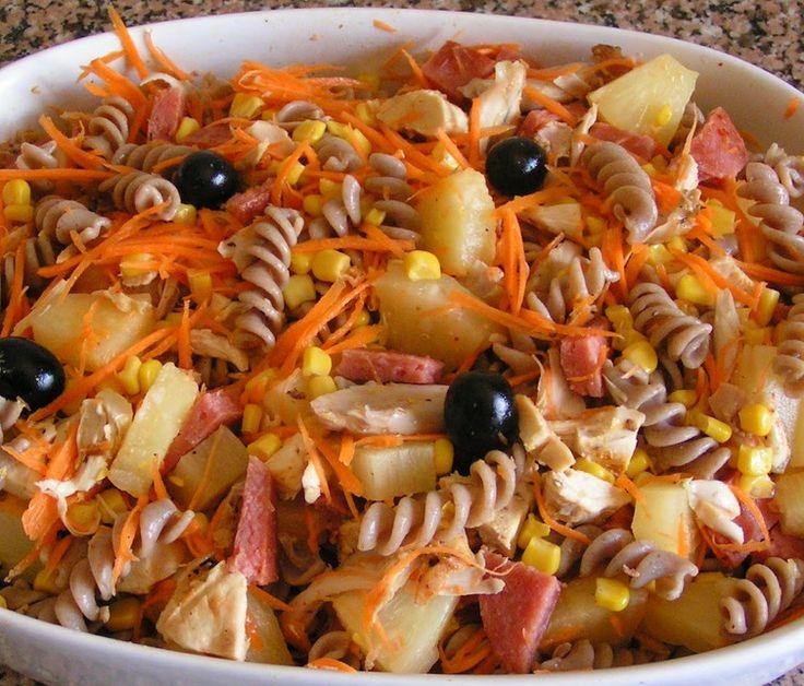 Receita de Salada de Frango Assado - http://www.receitasja.com/receita-de-salada-de-frango-assado/