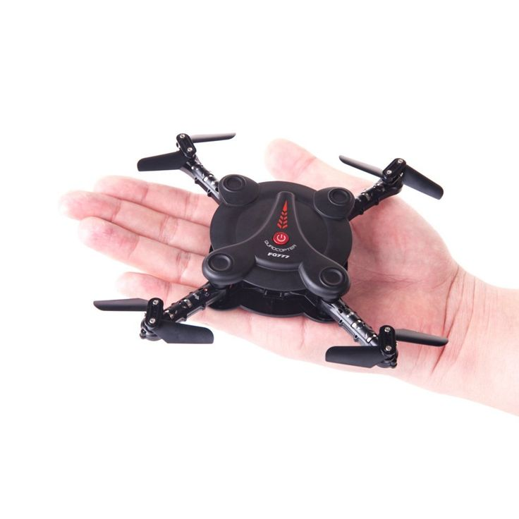 RC Quadcopter Drone with FPV Camera and Live Video - Flexible Foldable Aerofoils - App and Wifi Phone Control UAV - Altitude Hold 3D Flips & Rolls- 6-Axis Gyro Gravity Sensor RTF Helicopter, Black: Toys & Games