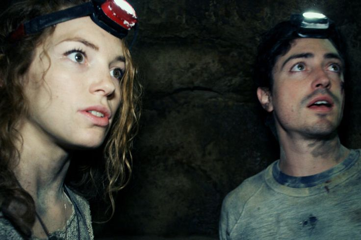 Perdita Weeks and Ben Feldman play characters who descend into the catacombs of Paris and don't like what they find. As you'd probably expect.