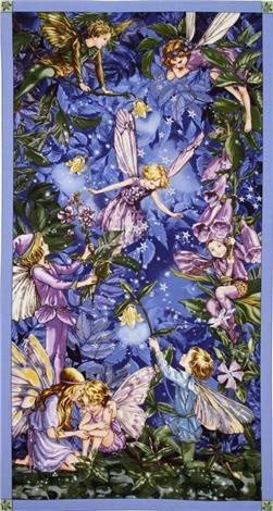 Night Fairies by Cicely Mary Barker.