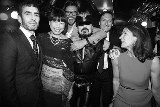 Marc Jacobs, Angelica Cheung, Lorenzo Martone, Peter Marino, Pietro Beccari