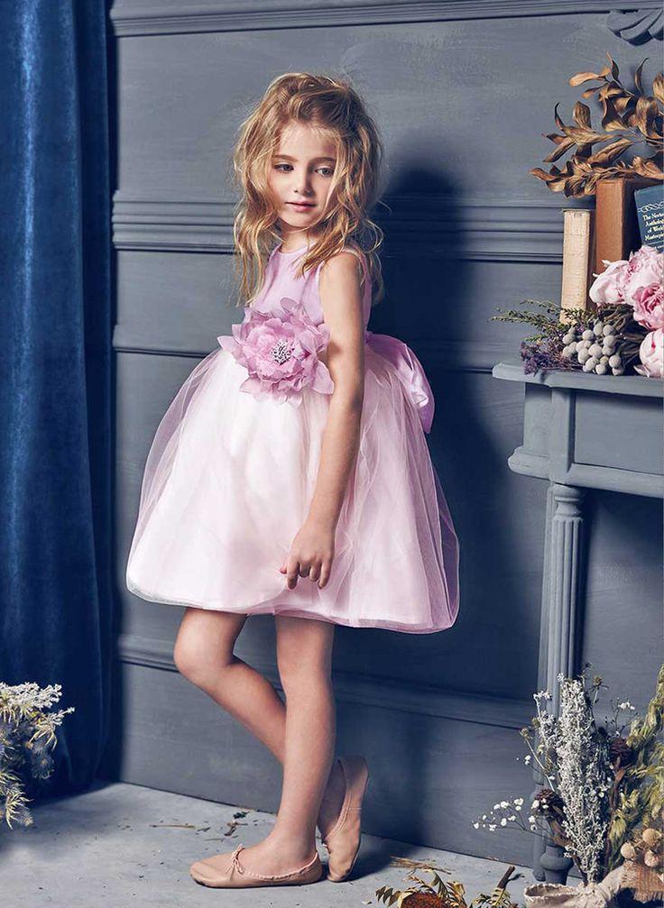 Nellystella Love Natalie Dress In Lavender Fog  The Girls -8151