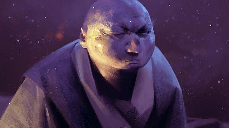 A monk by Sergey Kolesov | Illustration | 2D | CGSociety