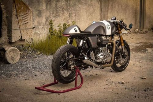 Royal Enfield Cotinental GT Cafe Racer by OK Easy Shop #motorcycles #caferacer #motos | caferacerpasion.com