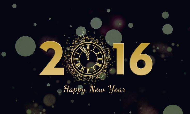 HAppy New Year 2016 background images