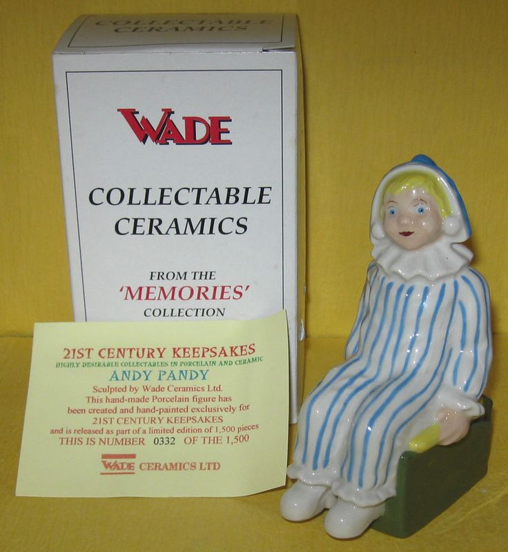 Mint in Box with Certificate LE Wade Ceramics Andy Pandy Special Promotion | eBay