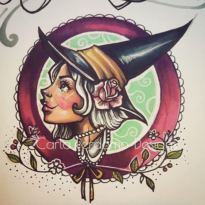 🌙💀🌟 #instagood #instaart #instapic #instafollow #instagood #ladytattooers #ladyheadtattoo #tattooillustrator #tattooart #tattooapprentice #latina #latinaartist #the6ix #toronto #torontoartist  #carlaperdomodesigns #wip #workinprogress  #feministart  #cutetattoo #witchy #witchcraft #neotraditionaltattoo #occulttattoo #occultart #colourtattoo #flashsheet #tattoo #tattooideas ##tattooinspiration #tattooflash