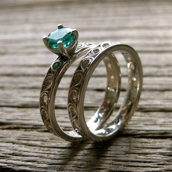 213 Best Images About Alternative Wedding Rings On Pinterest