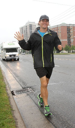 June 13th - Trenton, ON  Runner bringing awareness | Local | News | Trenton Trentonian