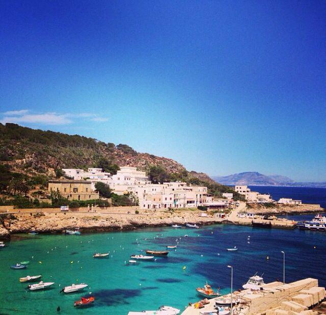 Isola di Levanzo, Sicilia
