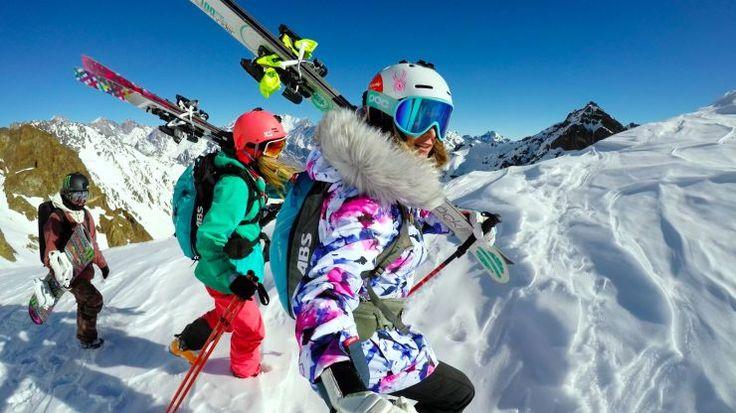 Join gold medalist alpine skier Julia Mancuso, gold