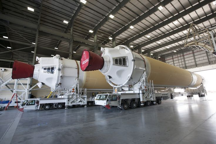 Boosters for Orion Spacecraft's First Flight Test Arrive at Port Canaveral, Florida | NASA