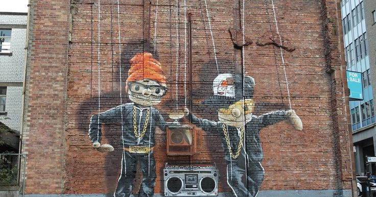 Glasgow's City Centre Mural Trail is now award-winning