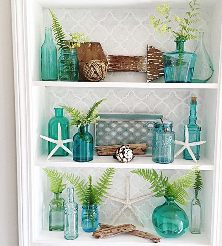 12 Of Instagramu0027s Most On Point Coastal Looks. Beach Themed DecorBeach ... Idea