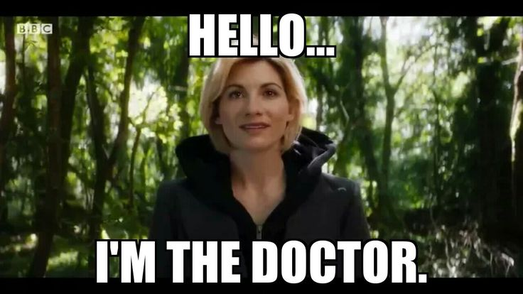 "Congratulations to Jodi Whittaker to the first actress to portray ""The Doctor"" for Doctor Who!"