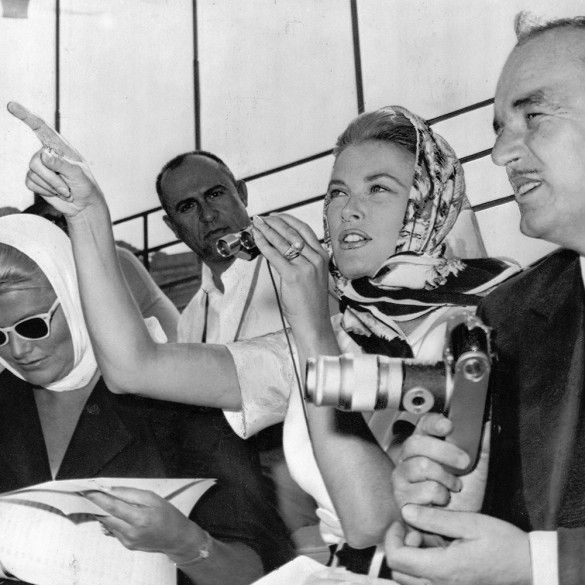 Princess Grace Kelly and Prince Rainier of Monaco in 1966 ...