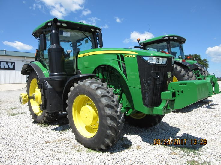 Was very to see this 400hp John Deere 8400R