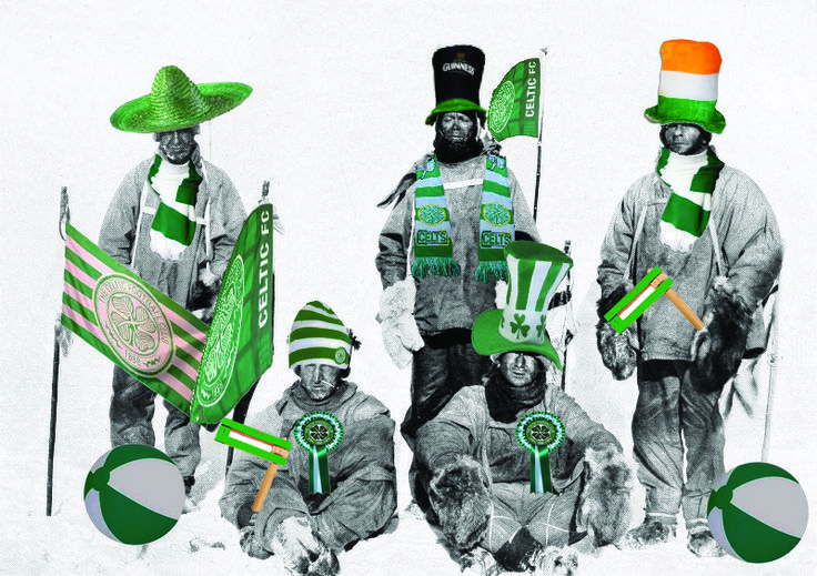 North (Pole) men, South (Pole) men, comrades all! Gretings from the Antarctic CSC.