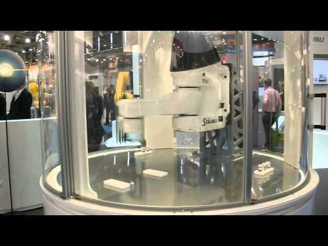 The fastest robot of the world from Stäubli at Automatica 2012