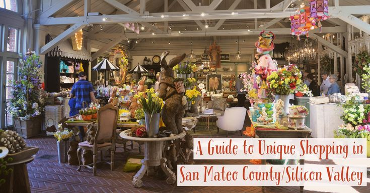 A Guide to Unique Shopping in San Mateo County/Silicon Valley! #shopping #travelblog #tourism #california #playbythebay #sanmateocounty #siliconvalley
