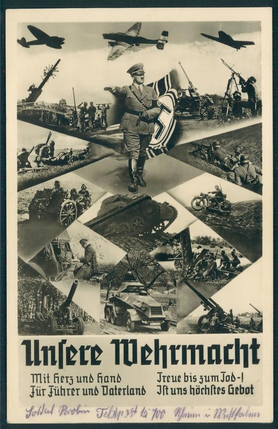 3rd Reich Propaganda Card