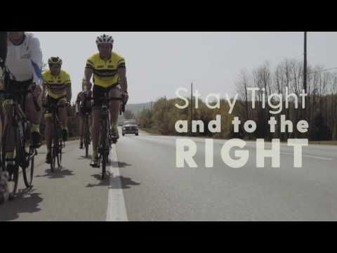 Safe Road Cycling in Groups