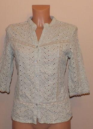 Kup mój przedmiot na #vintedpl http://www.vinted.pl/damska-odziez/bluzki-z-3-slash-4-rekawami/11946846-azurowa-bluzeczka-w-kolorze-khaki-m-10-38-george