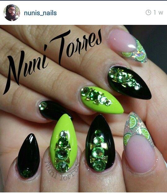 Mejores 17 imágenes de Nuni Torres Nails en Pinterest | Uñas bonitas ...