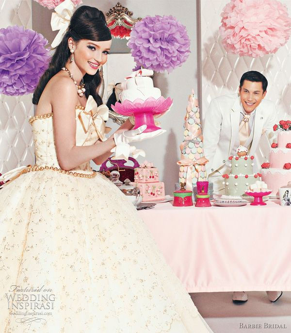 I want a dress from Barbie Bridal... i'm in love with these dresses