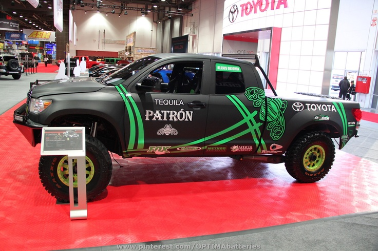 Alexis DeJoria's Toyota PreRunner at the 2012 #SEMA show