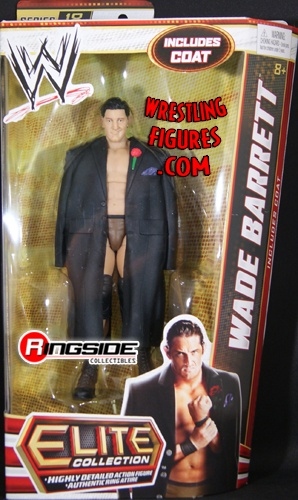 RINGSIDE COLLECTIBLES WWE Toys, Wrestling Action Figures, Jakks Pacific, Classic Superstars Action F: WADE BARRETTWWE ELITE 18BACK-ORDERLATE-NOVEMBER