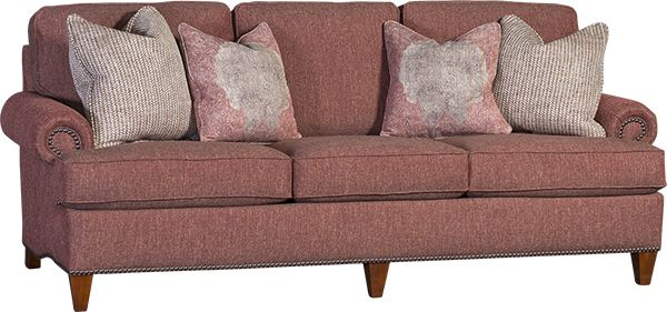 Mayou0027s 7925F Sofa In Homespun Paprika   Mayo Fabric Sofas   Pinterest   In  And Sofas
