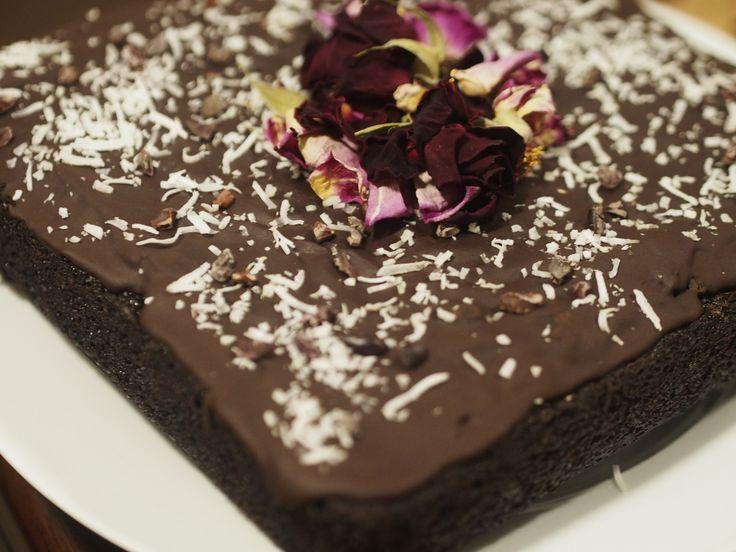 Dairy Free, Gluten Free Chocolate cake.