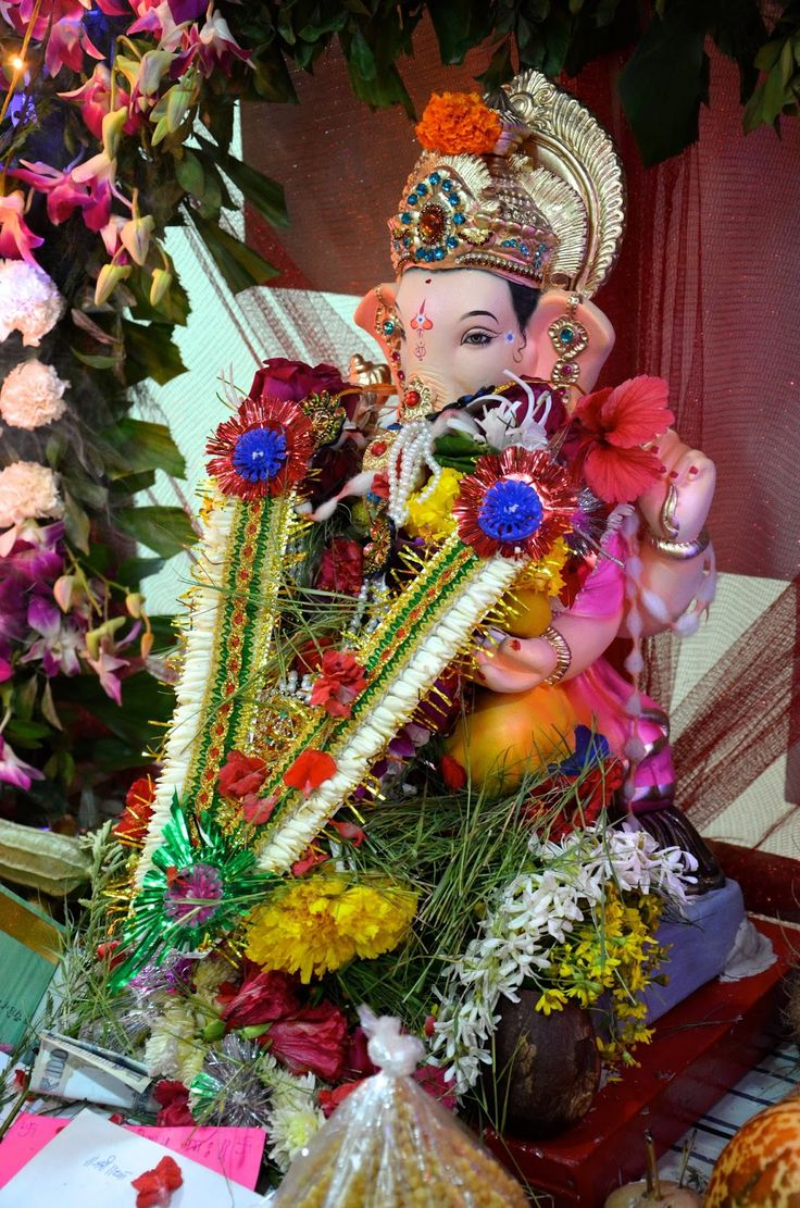 Ganesh chaturthi flowers may flower blog - Ganesh Chaturthi Is Just Around The Corner Preparations Are Being Taken All Over India And The World By People Who Celebrate The Birth Of Lord Ganesha