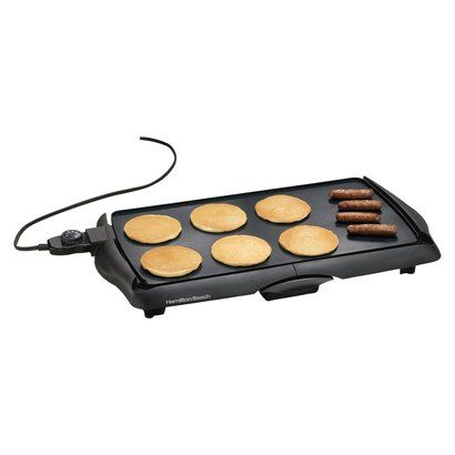 Another staple in my kitchen. Pancakes, grilled cheese, Breakfast Jacks....Hamilton Beach Electric Griddle.
