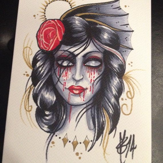 Vampyre2 by luckybleeder on Etsy
